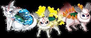 Amaterasu :: Vap - Jolt - Flare by Luifex