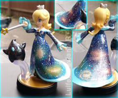 Rosalina Amiibo Recoloured Galaxy by Luifex