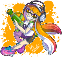 Inkling girl by Luifex