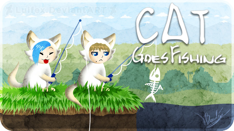 thumbnail for Cat goes fishing by Luifex