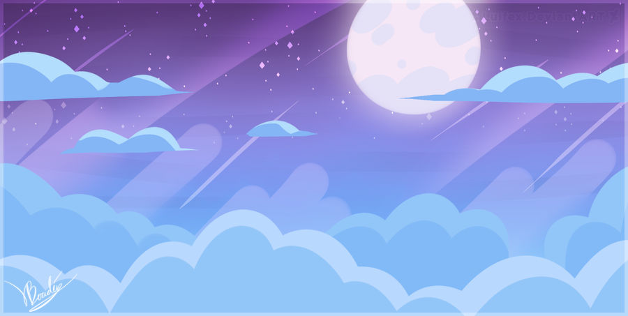 Steven Universe Midnight Sky by Luifex