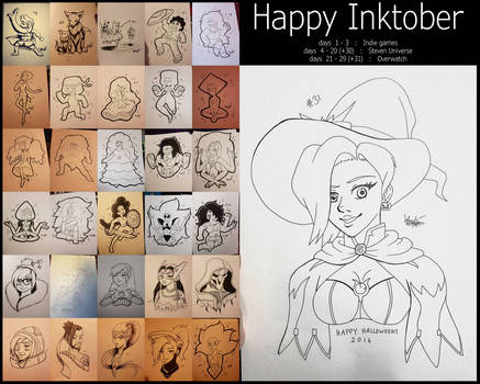 Happy Inktober 2016