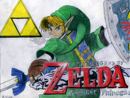 Link's title Coloured by Luifex