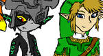 oekaki Link and Midna