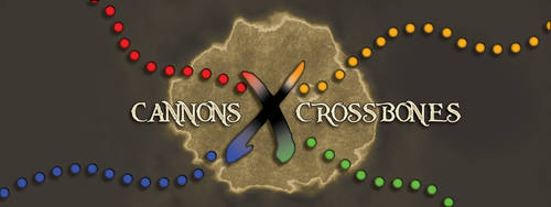 Cannons and Crossbones Logo by RecklessEnthusiasm
