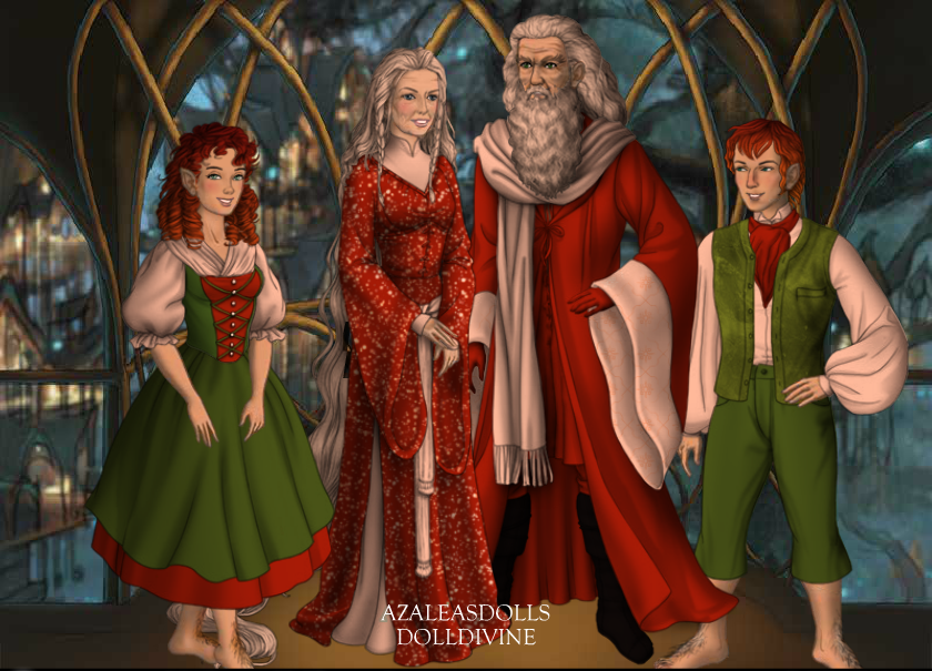 Santa Claus Mrs Claus and Elves by menolikee ...  sc 1 st  DeviantArt & Santa Claus Mrs Claus and Elves by menolikee on DeviantArt