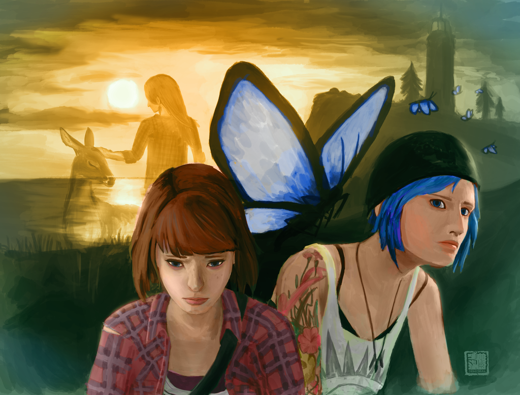 Life is Strange : Blame, Guide and Endure by dragseal
