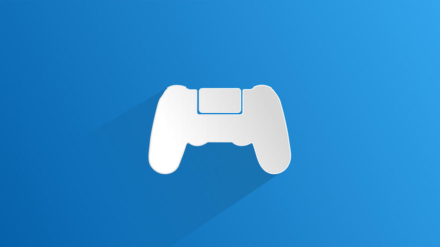 playstation 4 wallpaper controller by ghija on deviantart