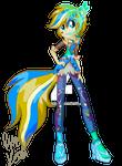 EG: Creative Spirit Neon Rainbow Rock