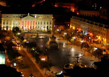 Lisbon by Night by Austinii