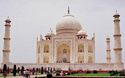The Taj Mahal (Film kodak 100 ASA)