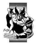 Wolverine Inks in Illustrator CS6