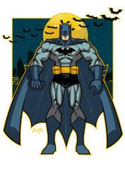BATMAN! 2017! by Montotus