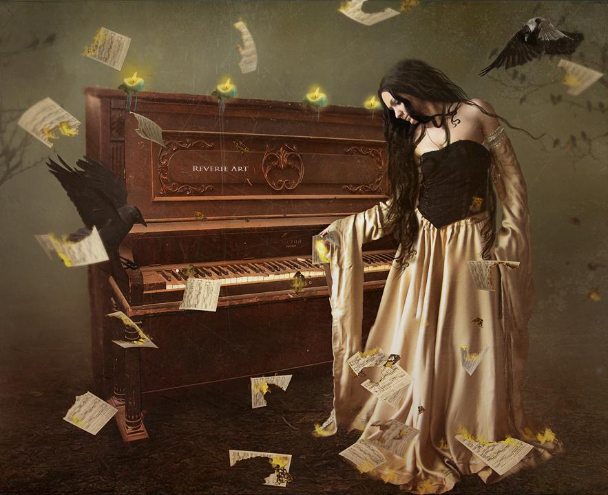 Inferno lullabye by Reverie-digitalart