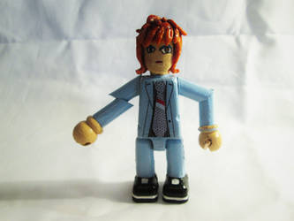 David Bowie: Ziggy Stardust Mini-figure. by APlaceForStuff