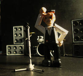 David Bowie: The Thin White Duke Mini-figure. by APlaceForStuff