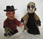 Freddy vs Jason Puppet Pals. by APlaceForStuff