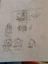 my OC's for kirby