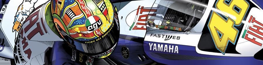 Valentino Rossi - Fiat Yamaha by quigonjimg