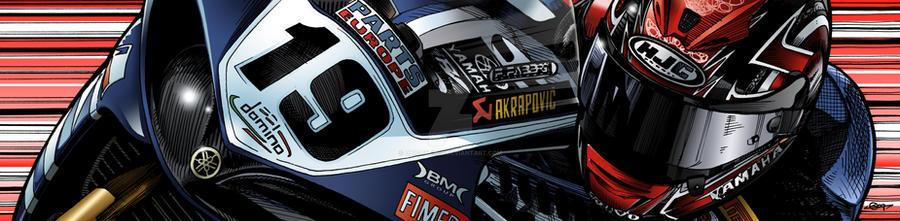 Ben Spies - Yamaha Italia R1 by quigonjimg