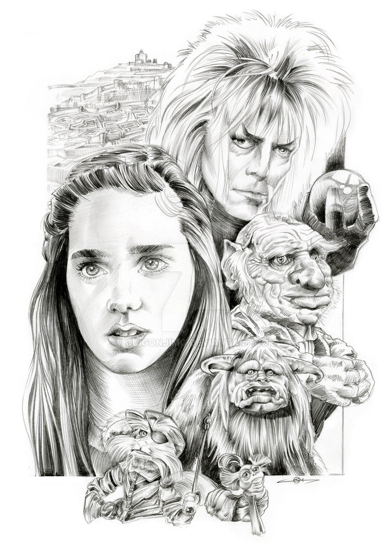 Labyrinth Poster Design by quigonjimg