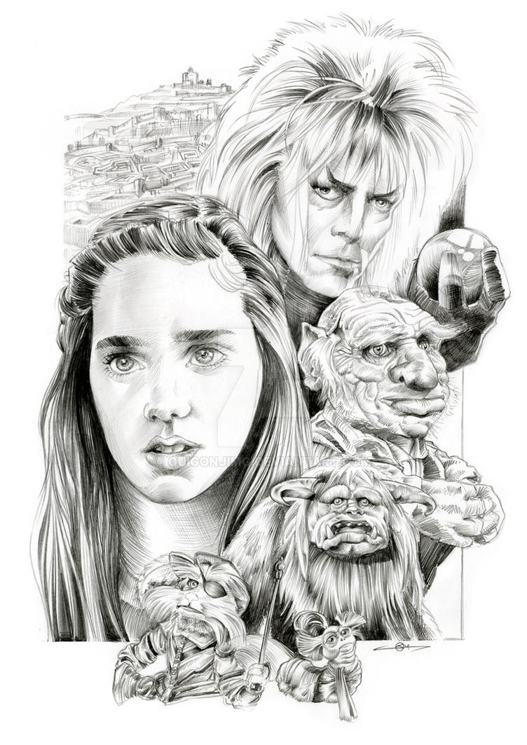 Labyrinth Poster Design by quigonjimg on DeviantArt Labyrinth Movie Sarah