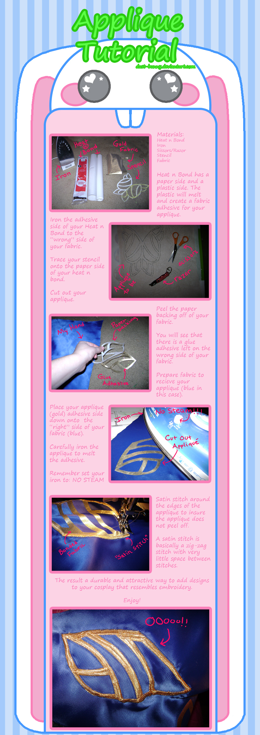 Applique Tutorial by dust-bunny