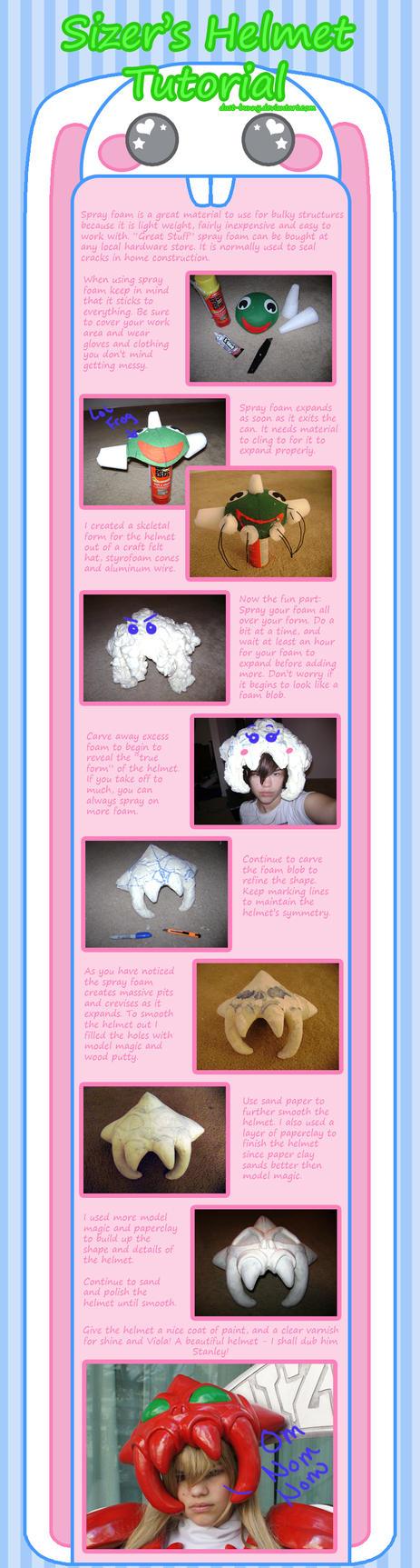 Sizer's Helmet Tutorial by dust-bunny
