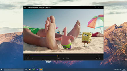 Windows 10 - VLC Playing Video