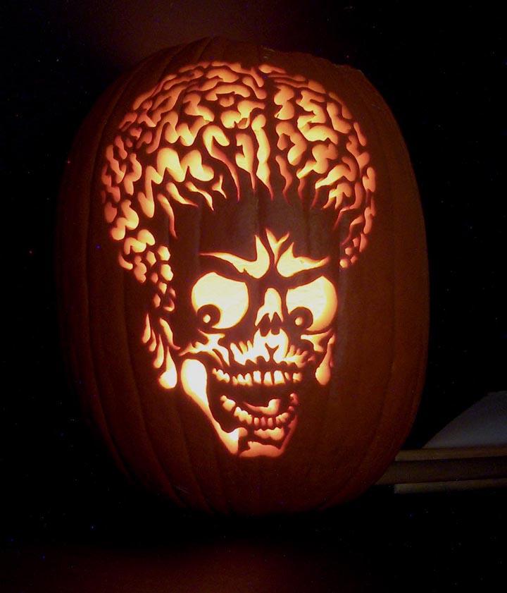 Halloween Movie Pumpkin Stencil.Mars Attacks Pumpkin By Mister Jp On Deviantart
