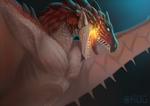 Rathalos Fanart by DragonChuu