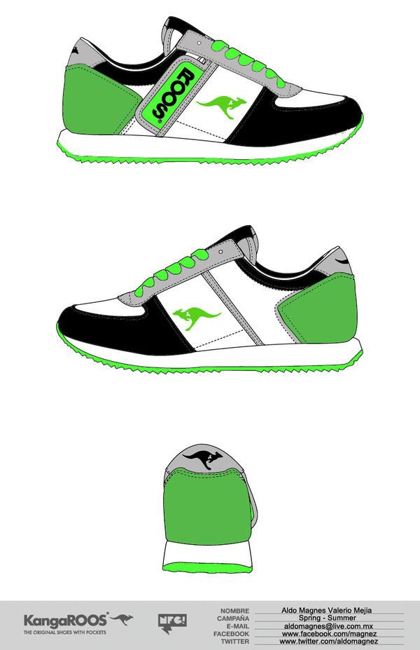 kangaroo tennis shoes design by aldomagnez on DeviantArt