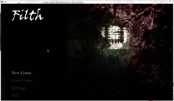 Filth game title screen