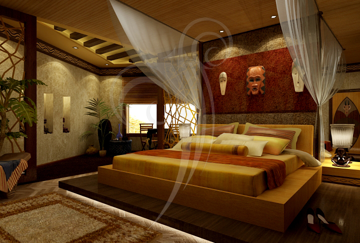 African bedroom by shynymph on deviantart for Bedroom designs south africa