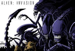 Aliens: Invasion by PriemRyeest