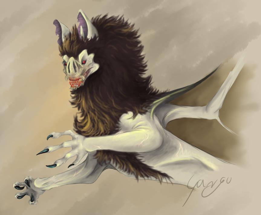 Dragon Of Blood by FakeGargu
