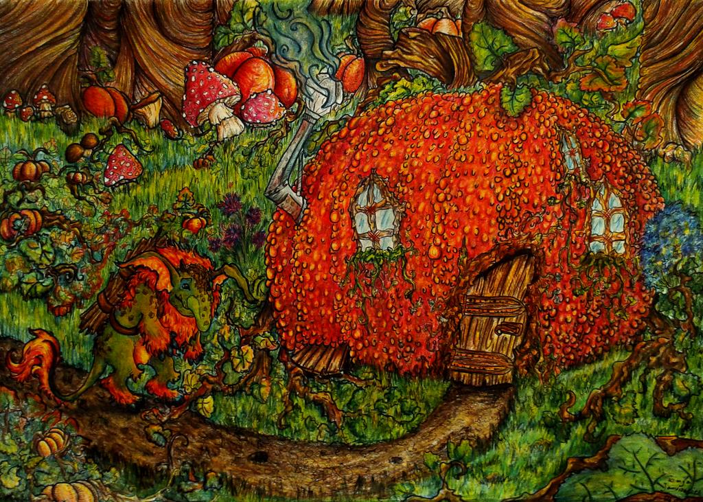 Pumpkin Troll by FakeGargu