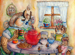 Tea Party by FakeGargu