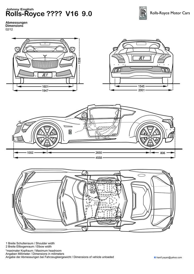 Johnny English Rolls-Royce Design Blueprints by hanif-yayan on ...