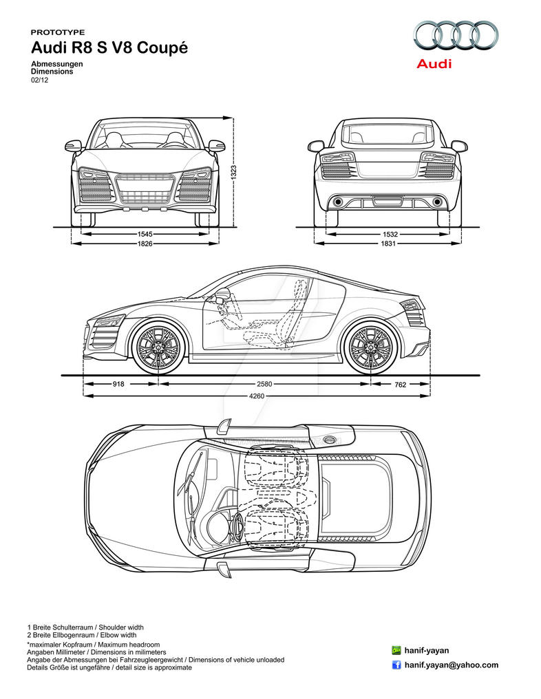 Audi r8s v8 design blueprints by hanif yayan on deviantart audi r8s v8 design blueprints by hanif yayan malvernweather Images