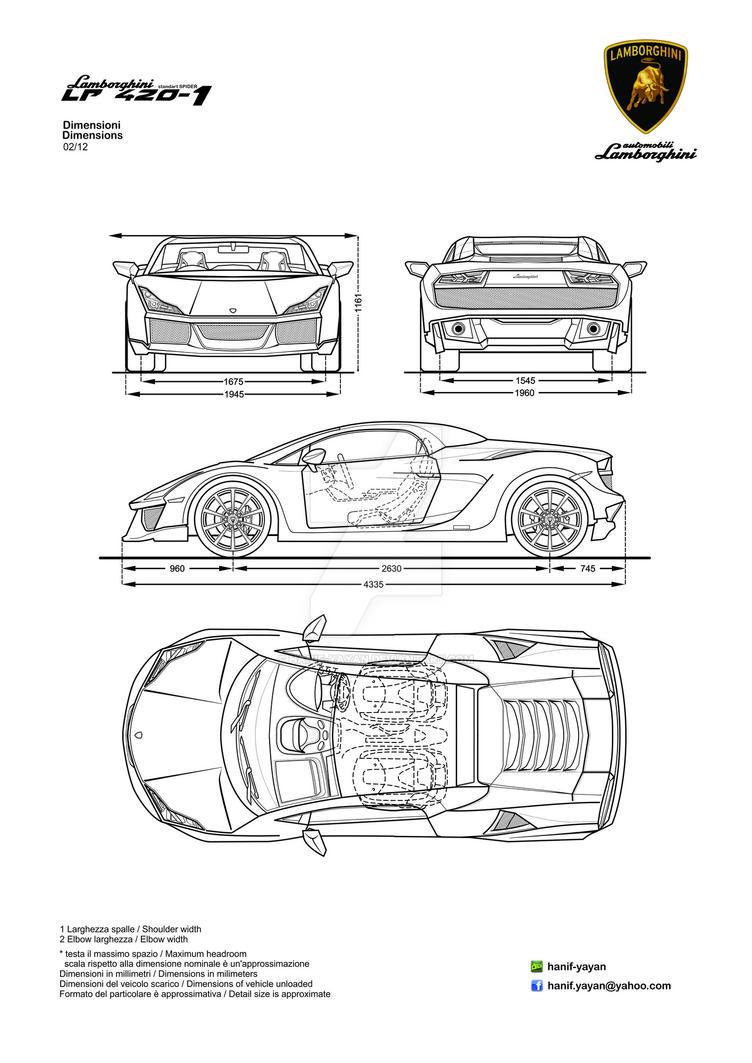 Lamborghini lp420 1 prototype design blueprints by hanif yayan on lamborghini lp420 1 prototype design blueprints by hanif yayan malvernweather Choice Image