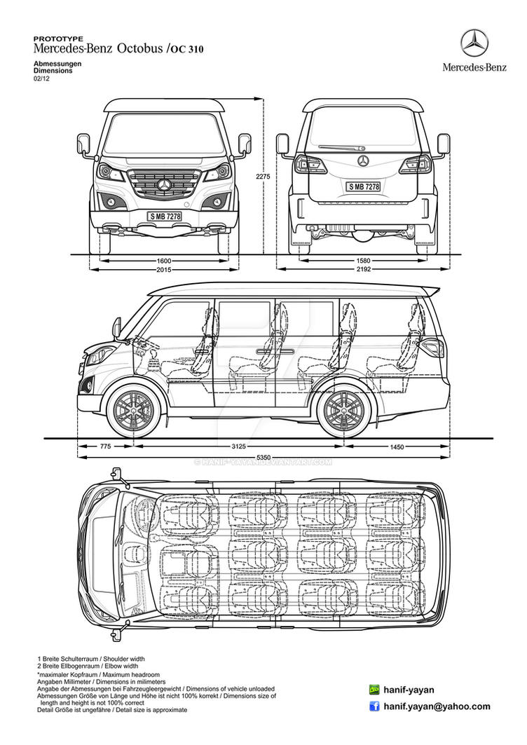 Mercedes-Benz Octobus Transporter Design Blueprint by hanif-yayan on ...
