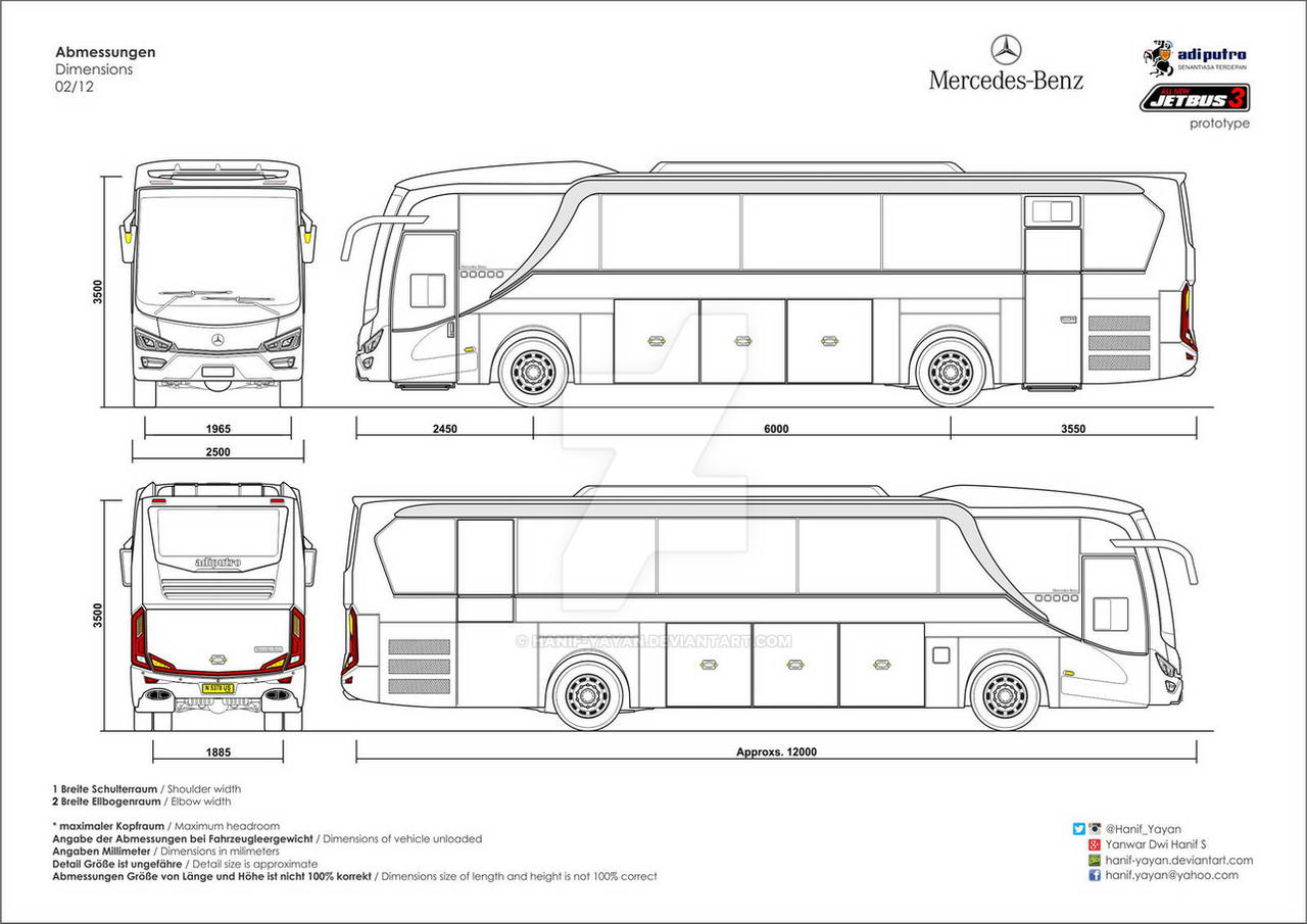 Mercedes Benz Oh 1526 All New Jetbus 3 By Hanif Yayan On