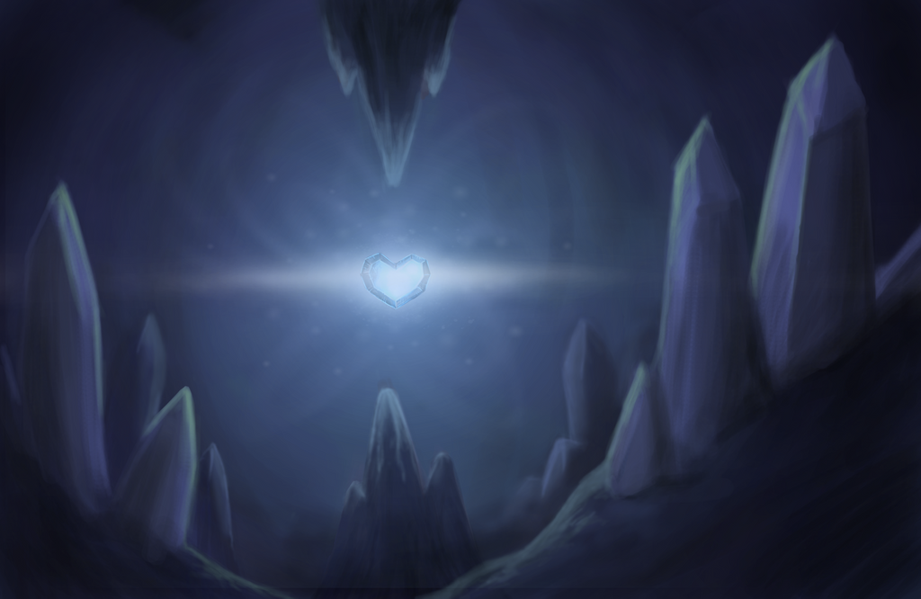 In the Lair of the Crystal Heart by TurboSolid on DeviantArt