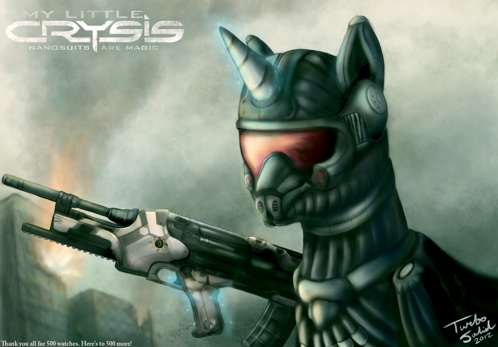 My Little Crysis: Nanosuits are Magic by TurboSolid