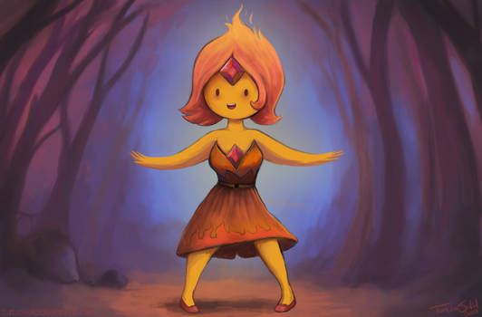 The Princess of Flames