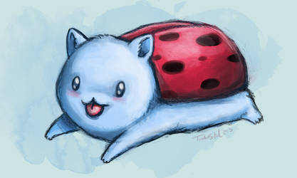 Catbug sketch by TurboSolid