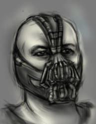 Bane speedpaint by TurboSolid