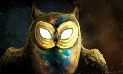 The Cosmic Owl by TurboSolid