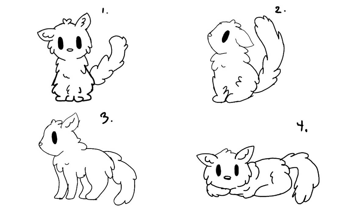 Cute Cat Base By Nels180 On Deviantart